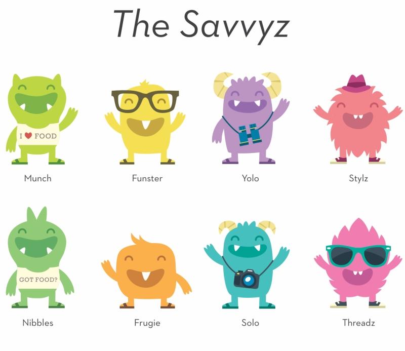 The Savvyz Characters