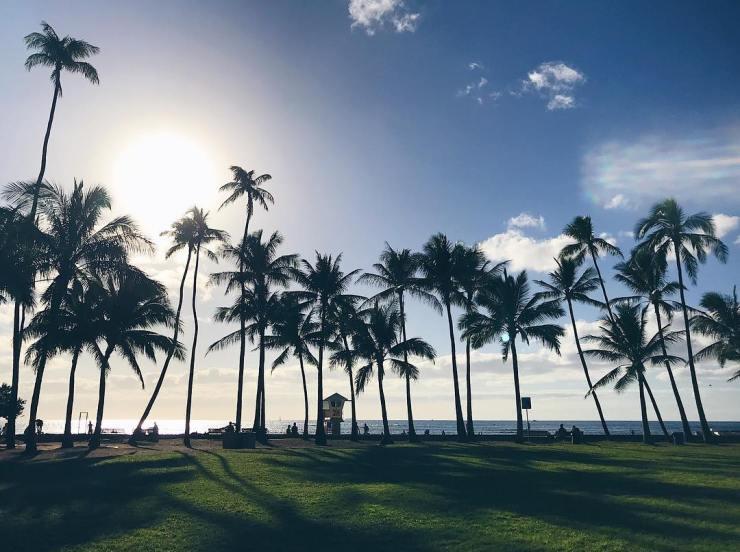 Kaimana Beach, Oahu