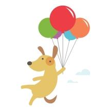 readtome-dog-art-balloons