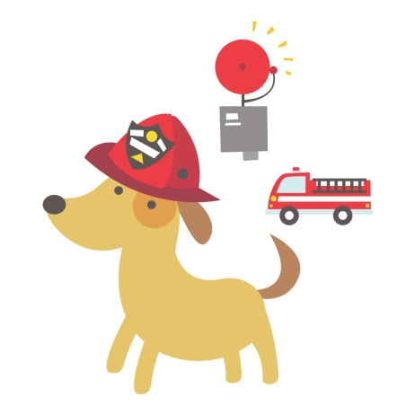 readtome-dog-art-firefighter