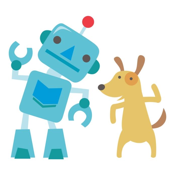 readtome-dog-art-robot