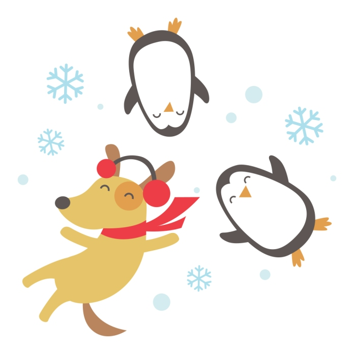 readtome-dog-art-snow