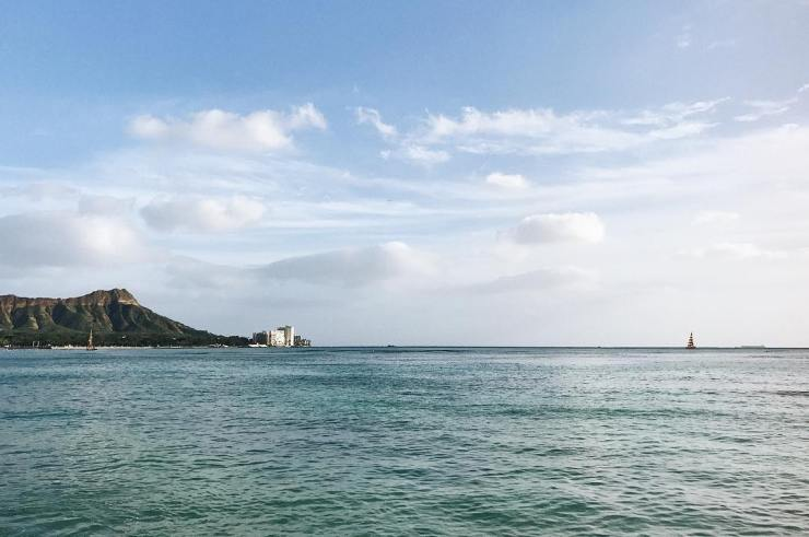 A view of Diamond Head Carter from afar